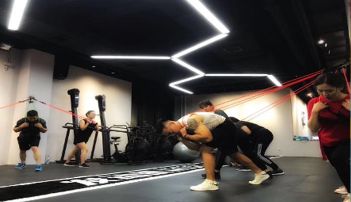 Ningbo Starting Muscle Gym rubber mat