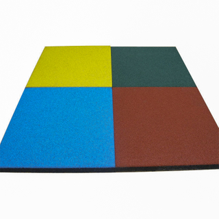 Outdoor Rubber Tile for Playground Flooring